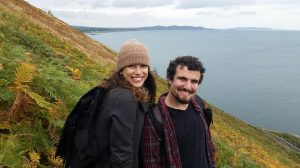 So green is the color of Ireland after all! Mariah and her friend Dante hiked along the shores of Ireland.