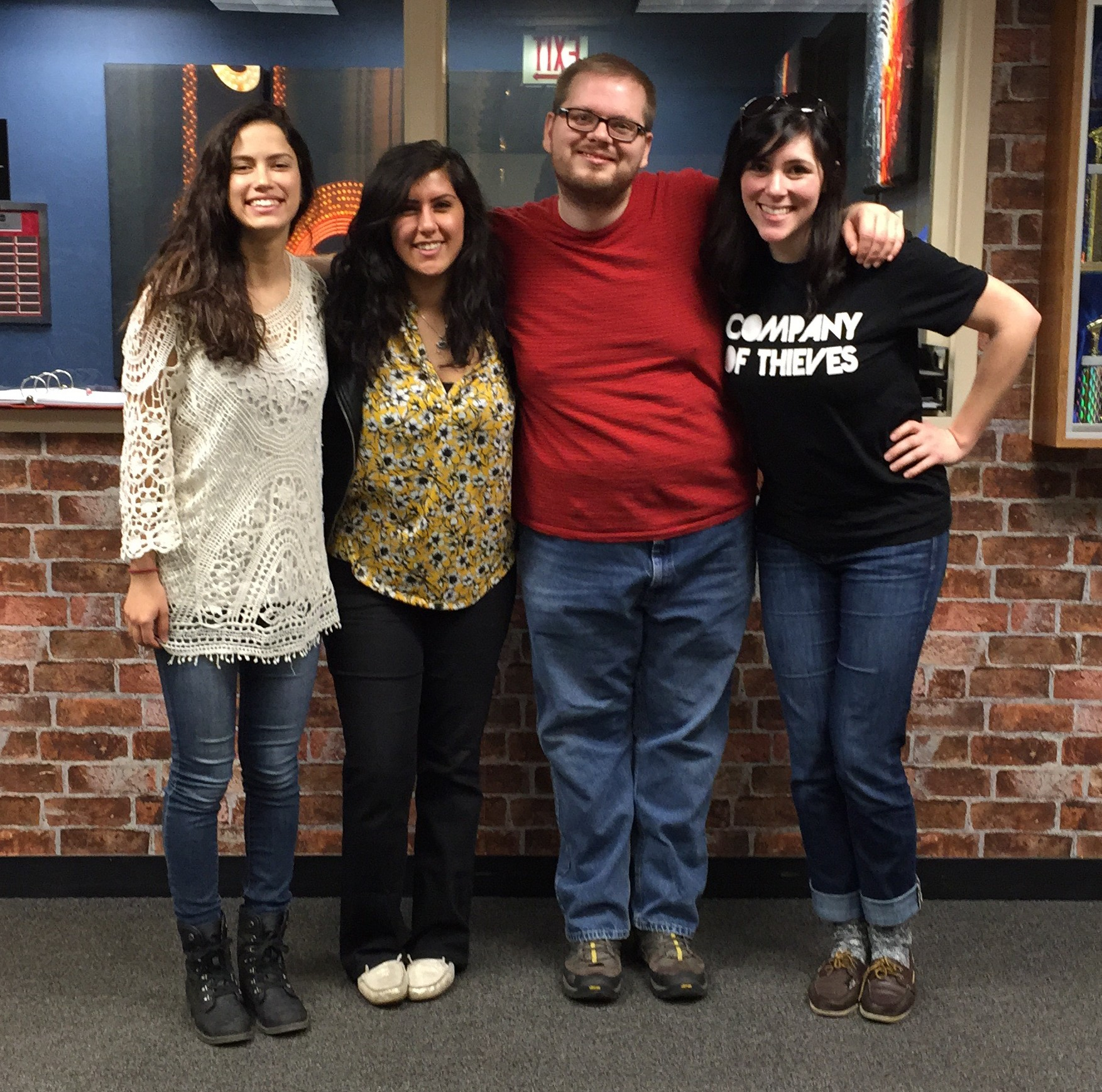 The last episode of the quarter with Scrawl hosts Mariah, Rima, Brandon, and Megan.