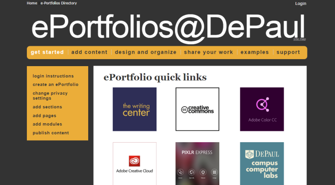 Why do we create Portfolios?